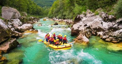 Rafting na Soči