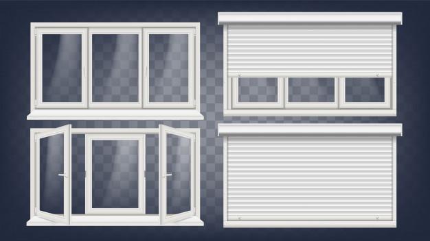 cenik PVC oken